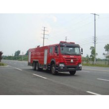 Howo turntable ladder wildland fire engine for sale