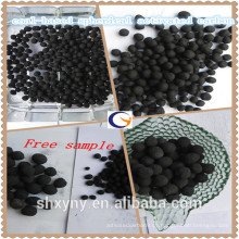 Liefern Sie niedrigen Preis der hohen Qualität Kohle-gegründete sphärische / pelletisierte aktivierte Caron
