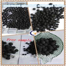 Поставка высокое качество низкая цена на уголь на основе Сферически/активированный лепешки Карона