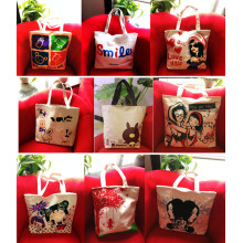 Shopping Bag Made of Canvas 8color for Your Selection