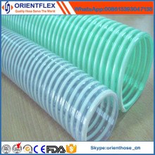 Mangueira flexível colorida da sução do PVC