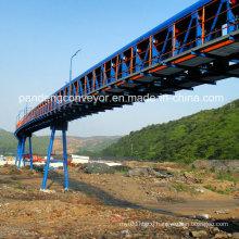 Tubular Belt Conveyor for Grains, Sea Port, Mining, Power, Chemical, Cement etc