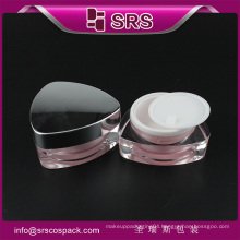 cosmetic packaging supplier,30g 50g acrylic cream jar manufacture