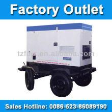 25kva Soundproof Portable Diesel Generator Set