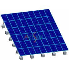 Solar-PV-Bodenbefestigung auf Flachdach