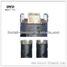 Stone diamond core bits with well arrangement segments better than Husqvarna