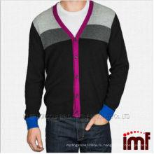2014 OEM мужчин трикотажные кашемира кардиган свитер