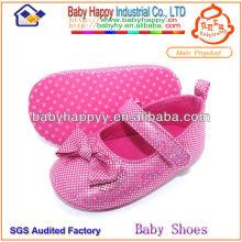 Zapato de bebé hermoso al por mayor del Rhinestone