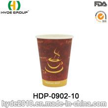 Copo descartável do papel do café da única parede 10oz (HDP-0902-10)