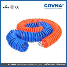 Puentes de PU / manguera de aire PU tubo de recoil / PU