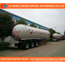 3 Axle 60cbm 30t LPG Tank Trailer for Sale