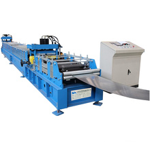 hydraulic cold roll forming machine prices for solar roof sheet c channel glazed tile