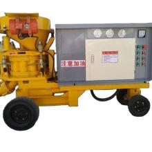 China concrete spray shotcrete gunite machine wet and dry shotcrete machine for sale