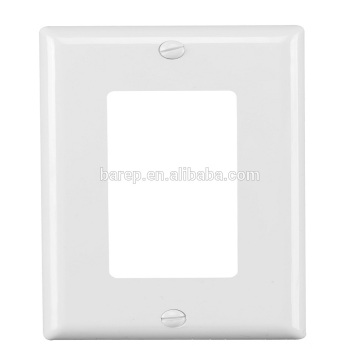 YGC-009 1gang Plastic wall decorative cover plate