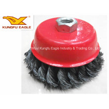 Standard Knotted Deeop bowl Shaped Wire bowl Brush