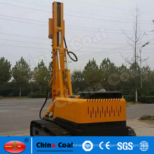 High piling efficiency electric crawler -mounted hydraulic pile driver