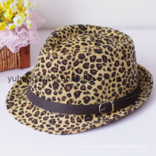 Sombrero personalizado de Fedora del caballero Gorros Bordados
