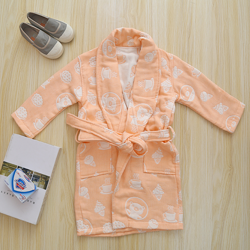 Cotton Toddler Bathrobe