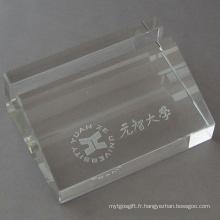 Boîte de nom commercial Crystal Stationery (JD-BJ-009)