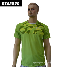 Polyester Dry Fit Custom Made Camo Printed Round Neck T Shirt
