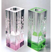 Wholesale Vasos de vidro colorido de cristal (15044)