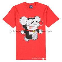 T-shirt imprimé en gros au coton enfant