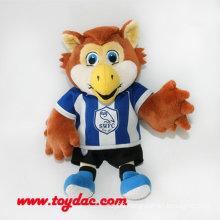 Plush Club Eagle Mascot Souvenir