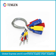 Metal Wire Security Seal with Customized Band Name Type 4