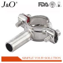 Acessórios sanitários de tubo de tubo de suspensão de tubos de aço inoxidável