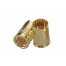 High Precision CNC Turning Brass Part for Electronic Cigarette
