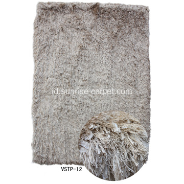 Silk Viscose & Feather Benang Mix Shaggy