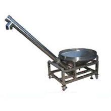 Vibration screw round hopper powder charging machine