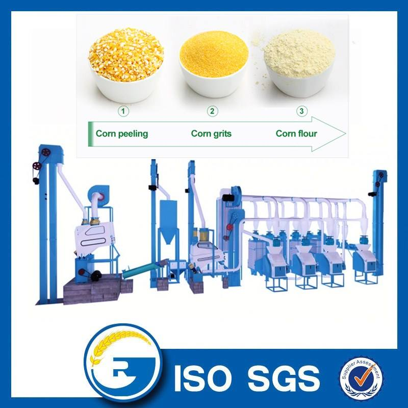 20 tonne per day corn flour milling machine