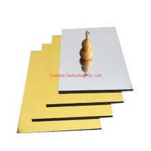 ACP 4mm Golden Mirror Aluminum Composite Panel for Decorate