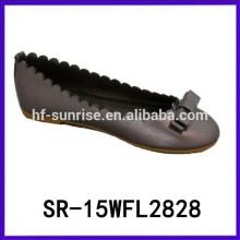 New design kids dress shoes girls dress shoe 2015 latest flat sole dress shoe