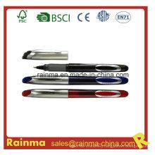 Liquid Ink Pen with Metal Clip Design