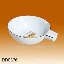 Wholesale custom design ceramic art ashtray