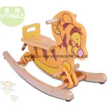 Alta qualidade de madeira de balanço animal-madeira tigre balancim