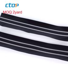 guangzhou fancy custom decorative industrial instant rubber aramid reflective airtight zipper