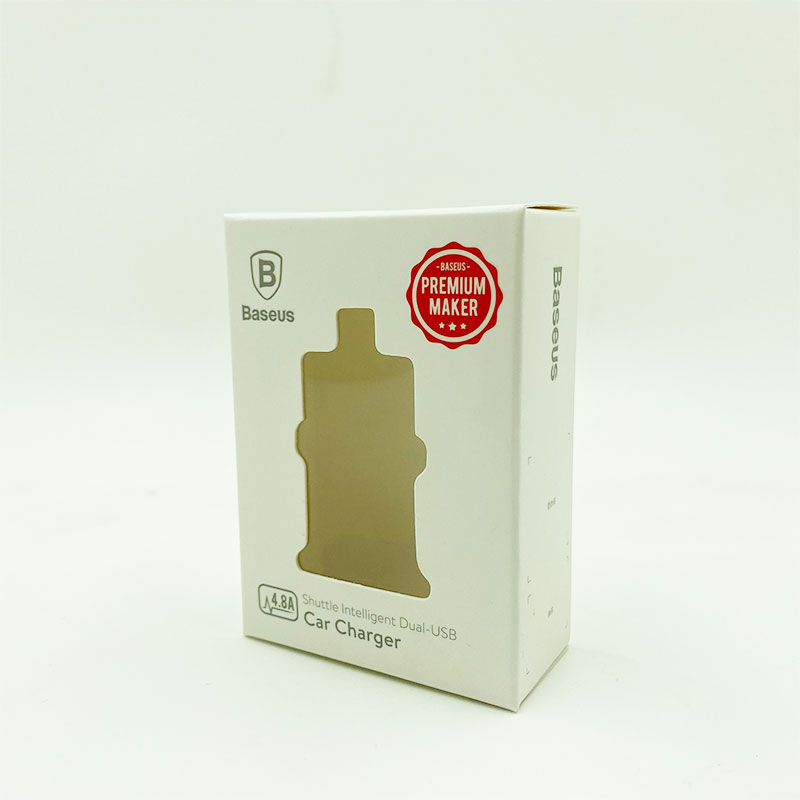 Metal product packaging box