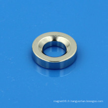 Aimant de l'anneau de terre rare du néodimium ndfeb