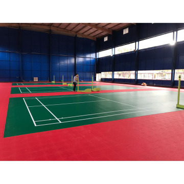 Anti-dérapage Badmintion utilisé Sports Flooring