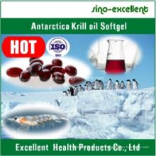 Cápsula antárctica do óleo do Krill / cápsula macia