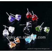 Fashion Crystal Ear Stud Charm Unisex Earring
