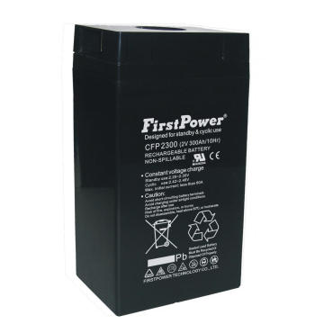 Batterie de réserve AGM VRLA Battery 2V300Ah Power Plant Battery