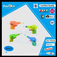 Juguete de verano mini pistola de agua de plástico transparente