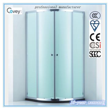 Recinto de la ducha con la rueda de la polea silenciosa del Bi-Metal (A-CVC047-S)