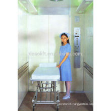 High quality machine room bed elevator with hairless stainless steel