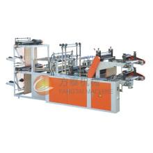 Machine à grande vitesse de fabrication de sacs à roulettes de gilet de contrôle par ordinateur (double-lignes)