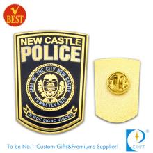 Le badge de la police de la ville en plaqué or de Chine